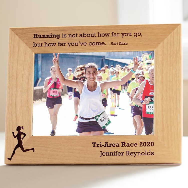Personalized Runner's Picture Frame