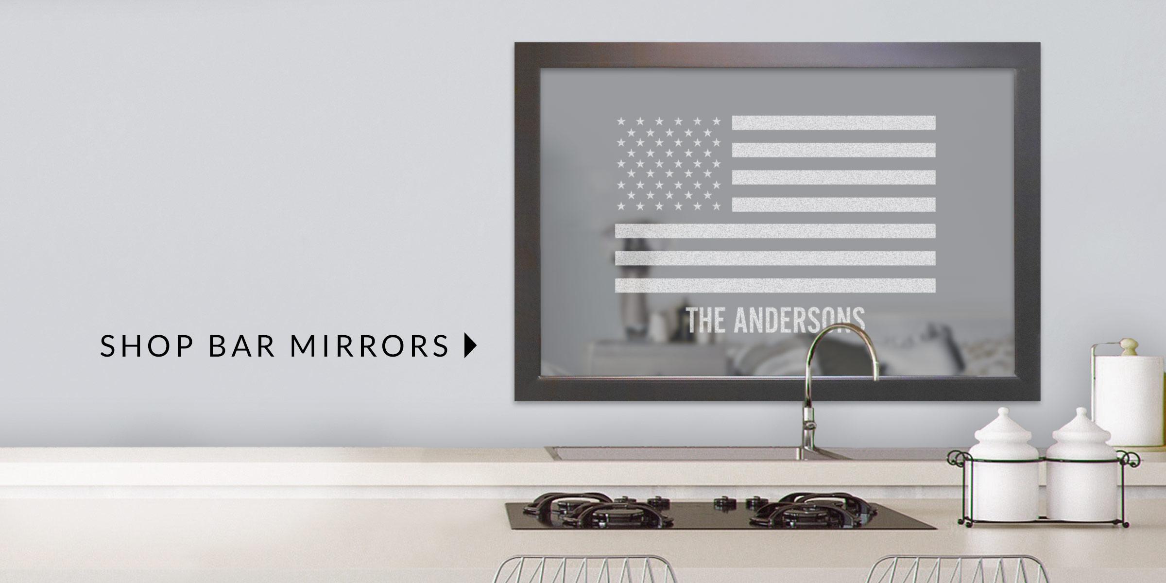 Shop Bar Mirrors
