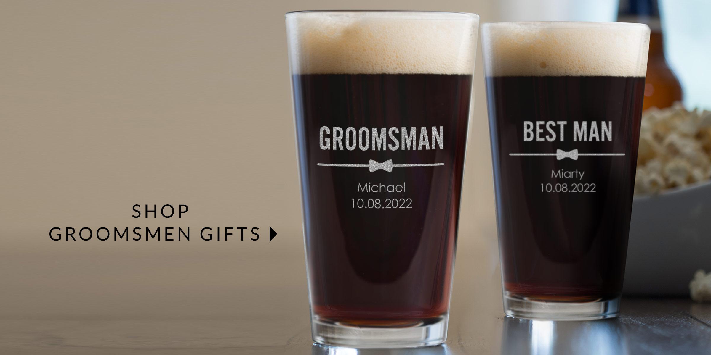Shop Groomsmen Gifts
