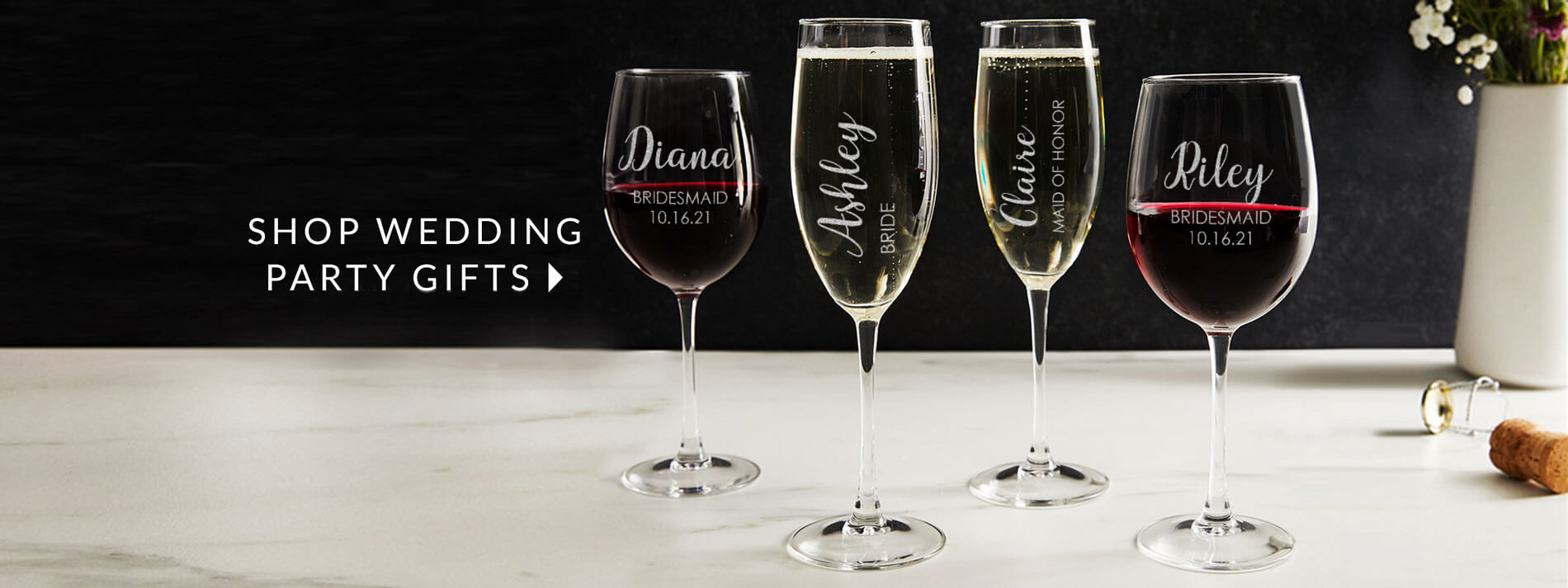 SHOP WEDDING PARTY GIFTS