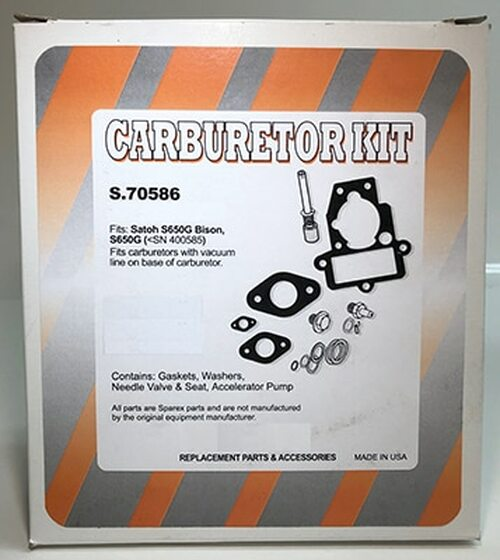 Aftermarket kit for S550G and S650G. Unlike others who sell the kit, we include instructions describing how to make this kit work in your Nikki or Stromberg carburetor. We also include the gasket that the kit manufacturer has left out.