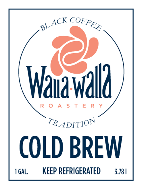 Cold Brew Coffee (1 Gallon)