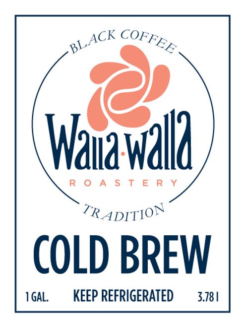 Cold Brew Coffee (1 Gallon)