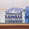 Blue Chinoiserie Trinket Box