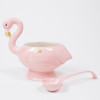 Alternative Picture of Punch Bowl & Spoon Set - Flamingo