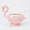 Picture of Punch Bowl & Spoon Set - Flamingo