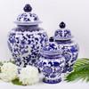 Alternate Image of Extra Large Blue Chinoiserie Ginger Jar