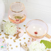 Coupe Glass - Light Pink