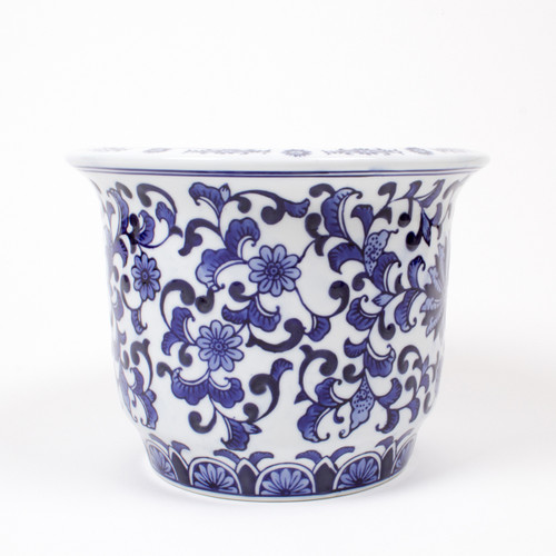 Alternative Picture of Small Decorative Porcelain Planter