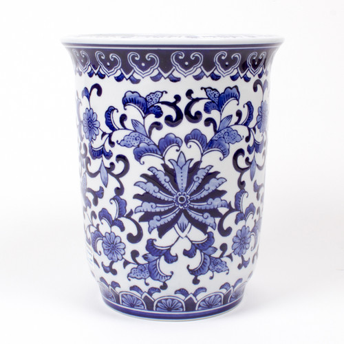 Alternative Picture of Large Decorative Porcelain Planter
