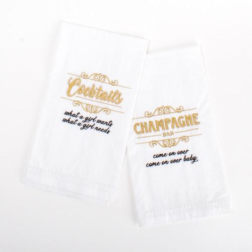 Bar Towel Set - 90's