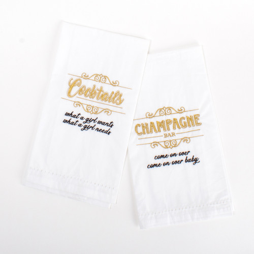 Bar Towel Set - 90's