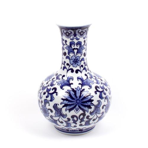 Gourd Chinoiserie Vase