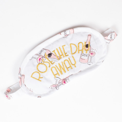 Rose the Day Away Eye Mask