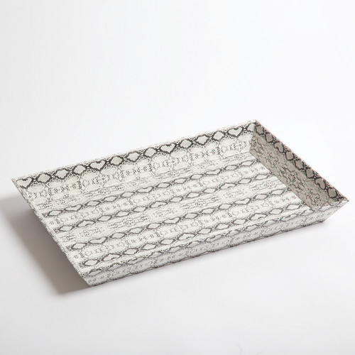 Picture of Leather Tray- Python - Large