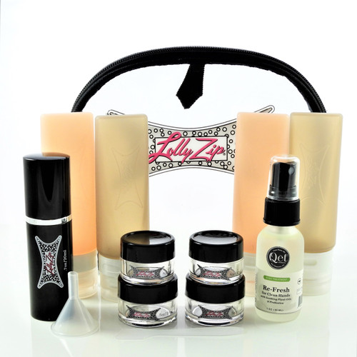 Our most complete kit plus hand cleaner