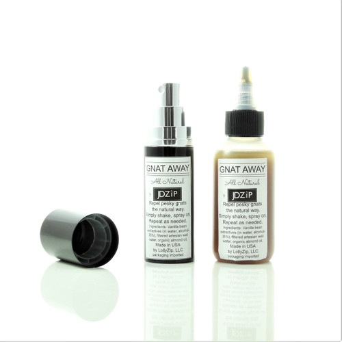 Gnat Away Spray Bottle and Refill
