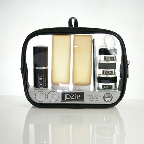 JDZip 10 pc travel kit TSA Carry-on