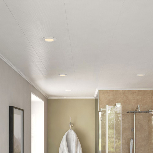 Room Style of Ancona White Ash PVC Ceiling Panels