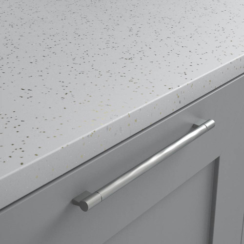 White Fleck Senses laminate worktops