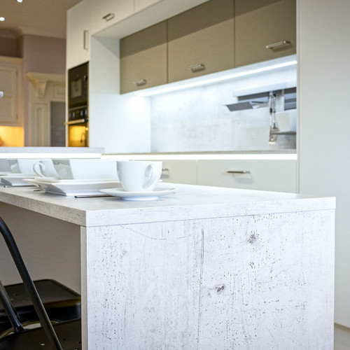 Industrial Stone Kitchen Worktop