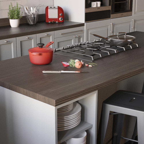 Senses Avola Grey Breakfast Bar