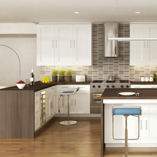 Heritage Colonial Oak Laminate Worktop Room Style