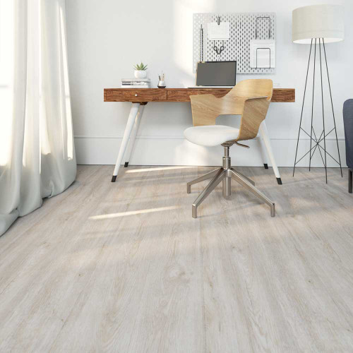 Clixeal Natural Oak Vinyl Floor Planks Room Style