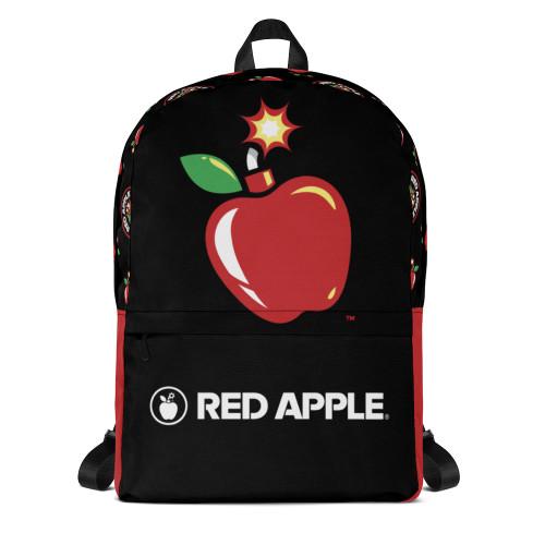 All-Over Print Logo Backpack