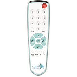 Clean Remote Spillproof, Universal Remote Control, Cr1