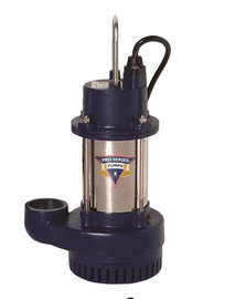 Pro Series Pumps 1/2 HP Cast Iron / Stainless Steel Submersible Sump Pump