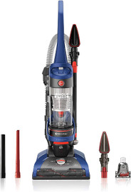 Hoover Windtunnel 2 Whole House Rewind Corded Bagless Upright Vacuum Cleaner With Hepa Media Filtration, Uh71250, Blue