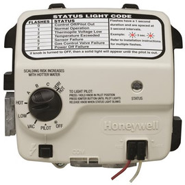 American Water Heater Honeywell Replacement Gas Valve Natural Gas 2 In. Insulation