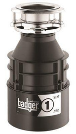 Insinkerator 1/3 Hp Continuous Feed Garbage  Disposal With Power Cord