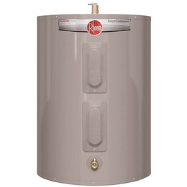 Rheem Professional 38 Gal. Classic Short Residential Electric Water Heater 240-volt Top T&p Relief Valve