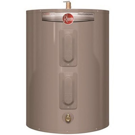 Rheem Professional Classic 28 Gal. Short Residential Electric Water Heater 240-Volt VAC 4500-Watt Top T and P Relief Valve