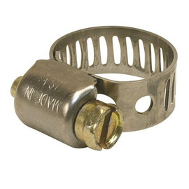 Breeze Clamp Breeze Hose Clamp, 410 Stainless Steel, 1-1/16 In. To 2 In., Pack Of 10