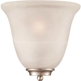 Monument 1-light Brushed Nickel Wall Sconce