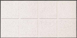 Armstrong Ceiling Panel Fine Fissured- Second Look I (15/16 In. Grid) 24 In. X 48 In. X 3/4 In. (10-case)