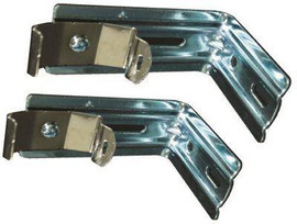 Designer's Touch Brackets With Installation Hardware For 3-1/2 In. Vertical Blinds Steel Headrail- 2 Per Pack
