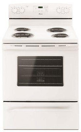 Amana 30-inch 4.8 Cu. Ft. Single Oven Free-standing Electric Range, With Storage Drawer, White