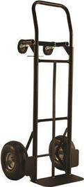 Milwaukee 800 Lbs. Capacity Convertible Hand Truck With 10 In. Pneumatic Tires