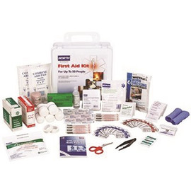 Honeywell North 50-person Indoor/outdoor Class A Plastic Case First Aid Kit