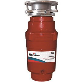 Garrison Garrison 1/3 Hp Builder Continuous Feed Garbage  Disposal Without Power Cord
