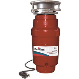 Garrison 1/3 Hp Builder Continuous Feed Garbage  Disposal With Power Cord