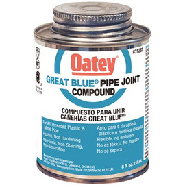 Oatey Great Blue 8 Oz. Pipe Joint Compound