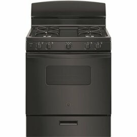 GE 30 In. 4.8 Cu. Ft. Gas Oven In Black