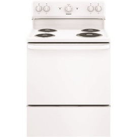 Hotpoint 30 In. 5.0 Cu. Ft. Electric Range Oven In White