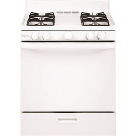 GE Hotpoint 30 In. 4.8 Cu. Ft. Gas Range Oven In White (No Glass On Door)