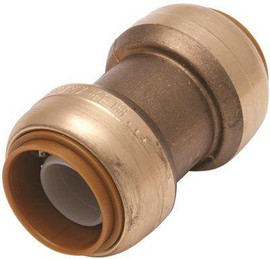 Sharkbite 3/4 In. Brass Push-to-connect Coupling